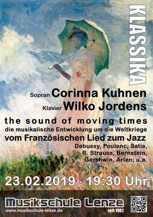 Liederabend mit Corinna Kuhnen und Wilko Jordens